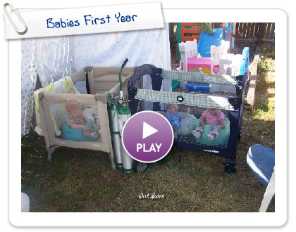 Click to play this Smilebox slideshow: Babies First Year