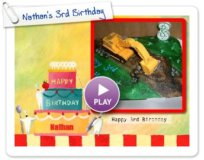 Click to play this Smilebox slideshow: Nathan's 3rd Birthday