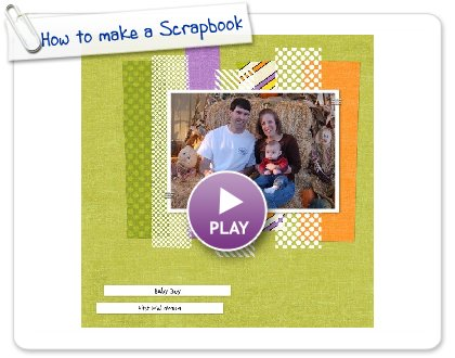Click to play this Smilebox scrapbook: How to make a Scrapbook