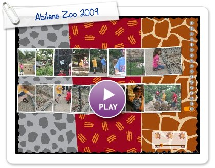 Click to play this Smilebox slideshow: Abilene Zoo 2009