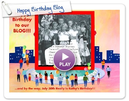 Click to play this Smilebox slideshow: Happy Birthday Blog