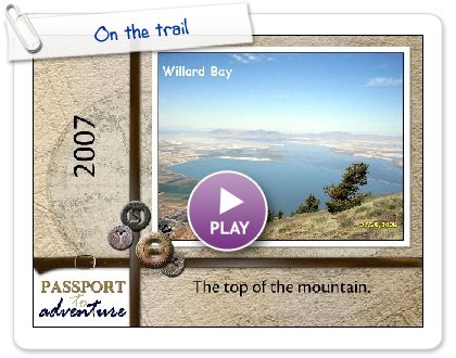 Click to play this Smilebox photobook: On the trail