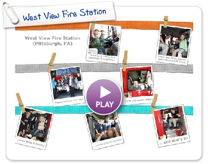 Click to play this Smilebox postcard: West View Fire Station