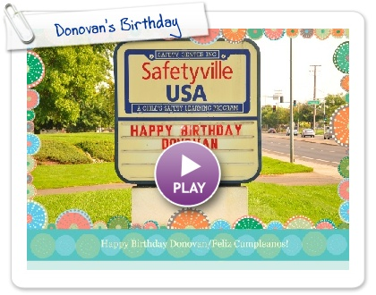 Click to play this Smilebox slideshow: Donovan's Birthday