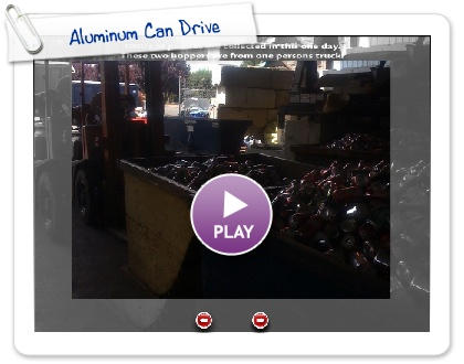 Click to play this Smilebox slideshow: Aluminum Can Drive