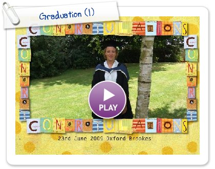 Click to play this Smilebox slideshow: Graduation