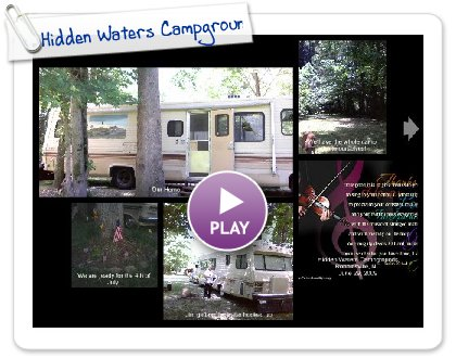 Click to play this Smilebox postcard: Hidden Waters Campground