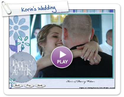 Click to play this Smilebox slideshow: Korin's Wedding
