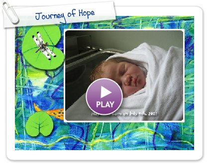 Click to play this Smilebox slideshow: Journey of Hope