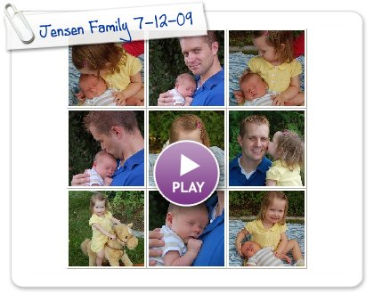 Click to play this Smilebox photobook: Jensen Family 7-12-09