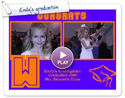 Click to play this Smilebox photobook: Emily's graduation