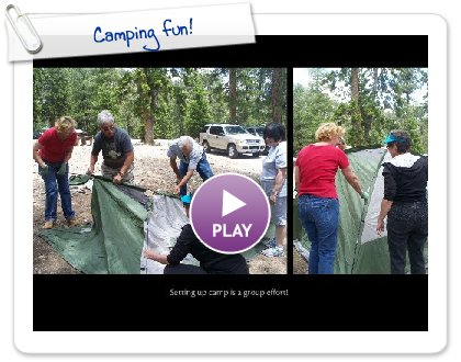 Click to play this Smilebox photobook: Camping fun!