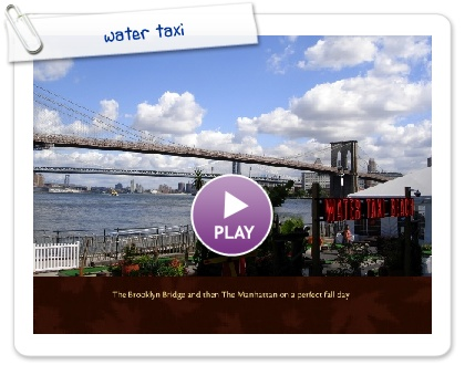 Click to play this Smilebox photobook: water taxi