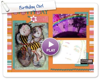 Click to play this Smilebox scrapbook: Birthday Girl