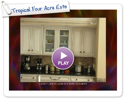Click to play this Smilebox slideshow: Tropical Four Acre Estate