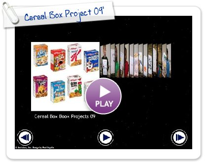 Click to play this Smilebox slideshow: Cereal Box Project 09'