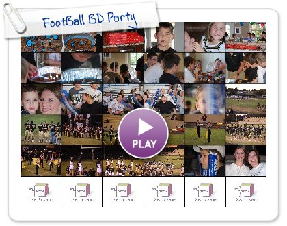 Click to play this Smilebox slideshow: FootBall BD Party