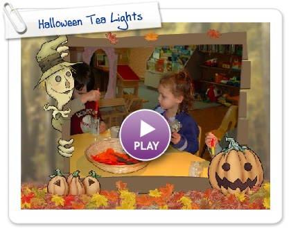 Click to play this Smilebox slideshow: Halloween Tea Lights