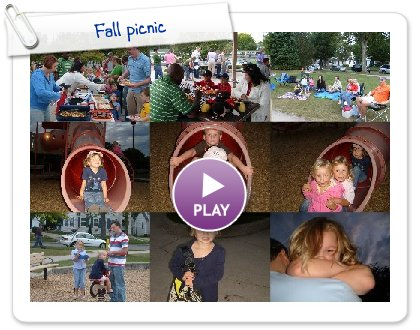 Click to play this Smilebox slideshow: Fall picnic