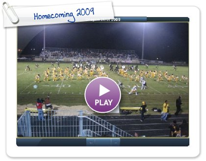 Click to play this Smilebox slideshow: Homecoming 2009