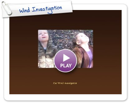 Click to play this Smilebox photobook: Wind Investigation