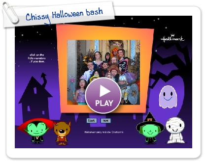 Click to play this Smilebox slideshow: Chissy Halloween bash