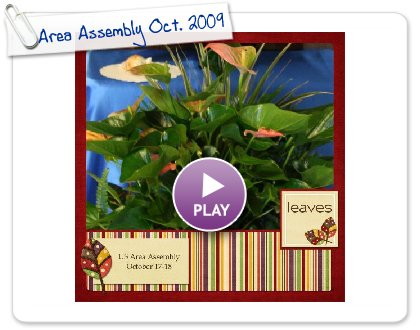 Click to play this Smilebox scrapbook: Area Assembly Oct. 2009