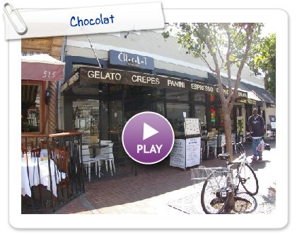 Chocolat, a Milan Experience in The Heart of The Gaslamp District in Downtown San Diego!