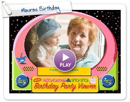 Click to play this Smilebox slideshow: Mauras Birthday