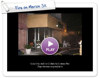 Click to play this Smilebox slideshow: Fire on Marion St.