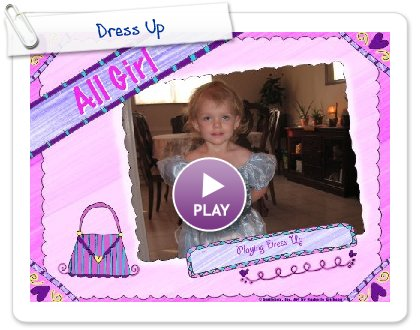Click to play this Smilebox scrapbook: Dress Up