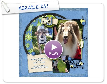 Click to play this Smilebox scrapbook: MIRACLE DAY