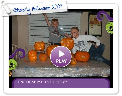Click to play this Smilebox slideshow: Ghostly Halloween 2009