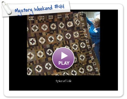 Click to play this Smilebox slideshow: Mystery Weekend #44