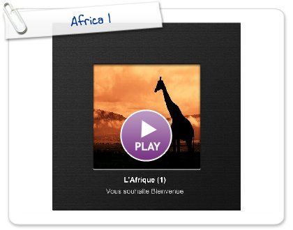 Click to play this Smilebox photobook: Africa 1