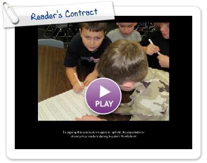 Click to play this Smilebox slideshow: Reader's Contract