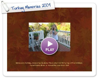 Click to play this Smilebox photobook: Turkey Memories 2009