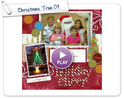 Click to play this Smilebox scrapbook: Christmas Tree 09