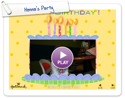 Click to play this Smilebox slideshow: Hanna's Party