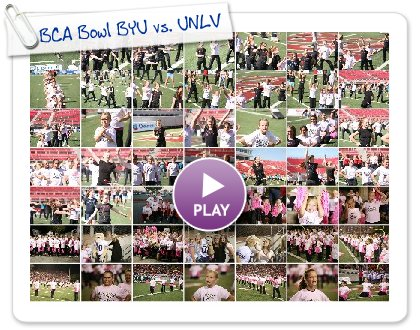 Click to play this Smilebox slideshow: BCA Bowl BYU vs. UNLV