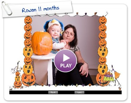 Click to play this Smilebox slideshow: Rowan 11 months
