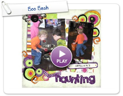 Click to play this Smilebox scrapbook: Boo Bash