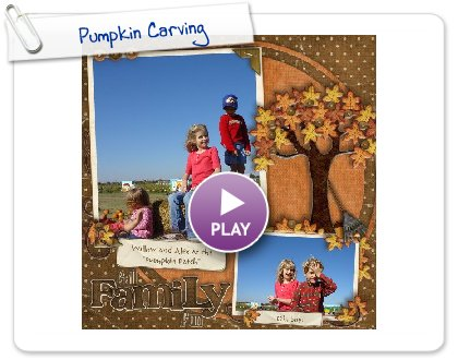 Click to play this Smilebox scrapbook: Pumpkin Carving