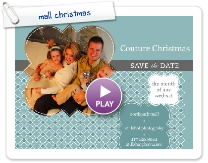 Click to play this Smilebox invite: couture christmas by stillshot