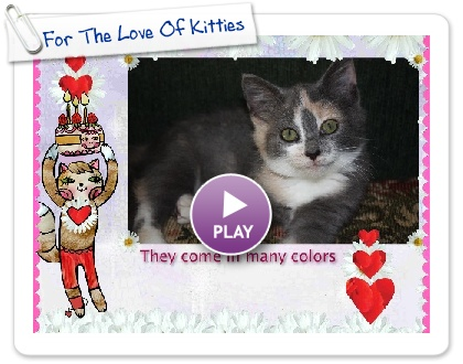 Click to play this Smilebox slideshow: For The Love Of Kitties