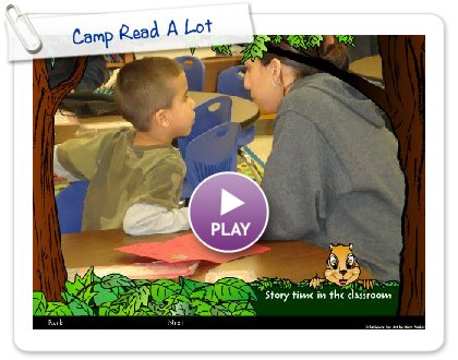 Click to play this Smilebox slideshow: Camp Read A Lot