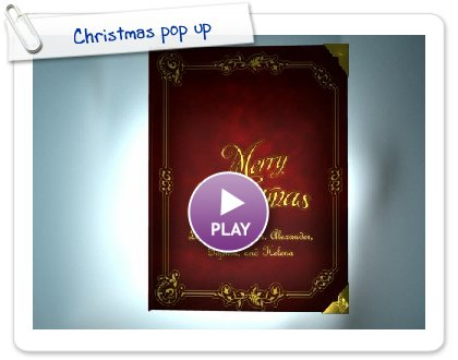 Click to play this Smilebox greeting: Christmas pop up