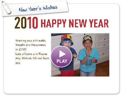 Click to play this Smilebox invite: New Year's Wishes