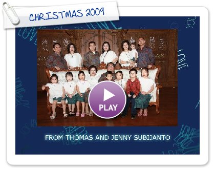 Click to play this Smilebox greeting: MERRY CHRISTMAS 2009