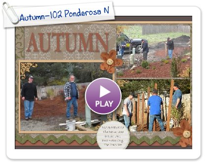 Click to play this Smilebox scrapbook: Autumn-102 Ponderosa November 19